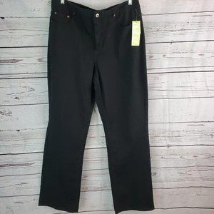 NWT Coldwater Creek Shape Me Straight Leg Jeans 16